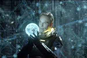 How David's character was in Prometheus
